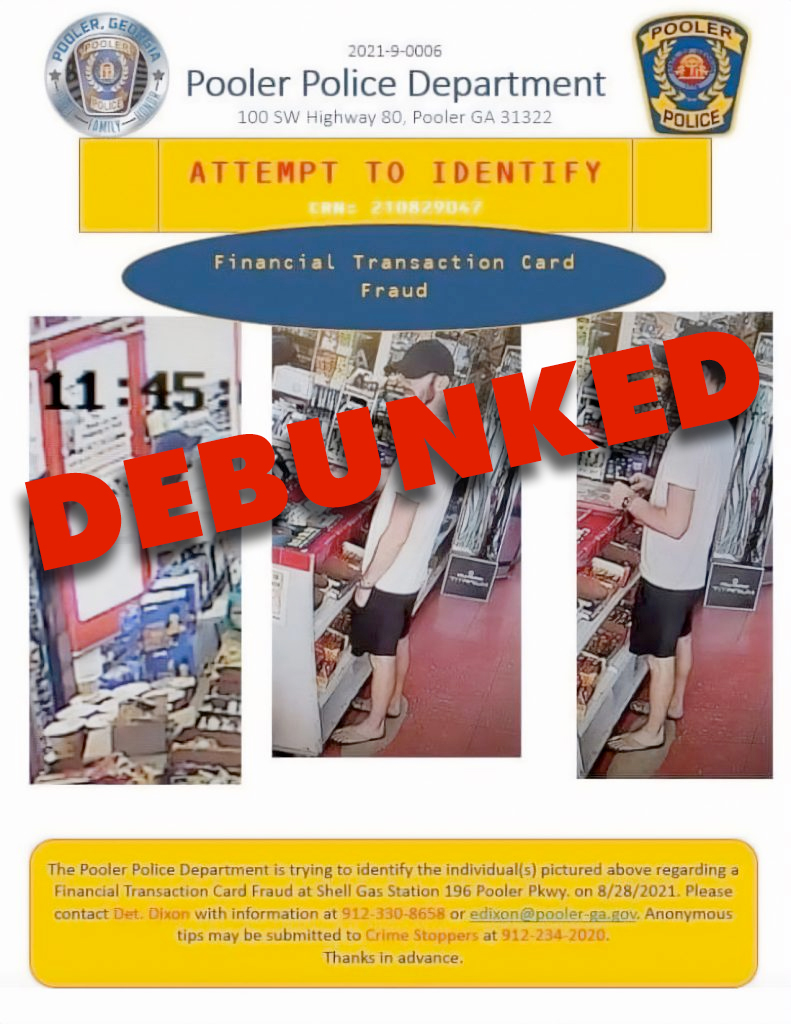 DEBUNKED – Brian Laundrie Uses Gabby's Capital One Card in Pooler, GA