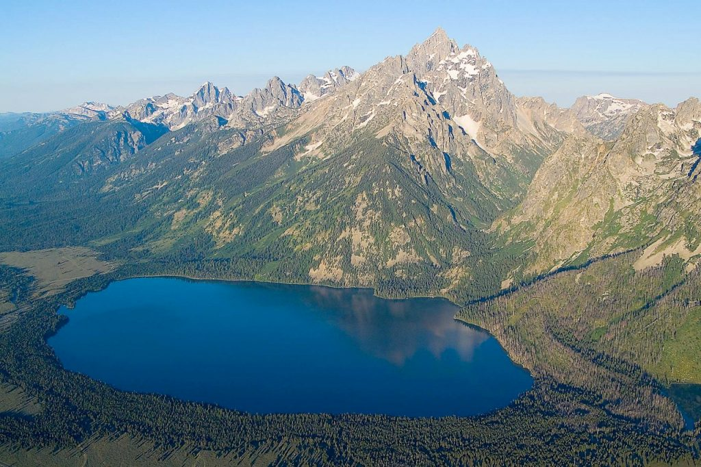 Witness Claims to Have Spotted Van at Jenny Lake Inside Grand Teton National Park