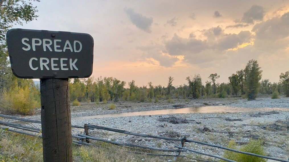 Witnesses Say Brian Hitchhikes from Near Jackson Dam to Spread Creek Dispersed Camping Area in Grand Teton National Park, WY